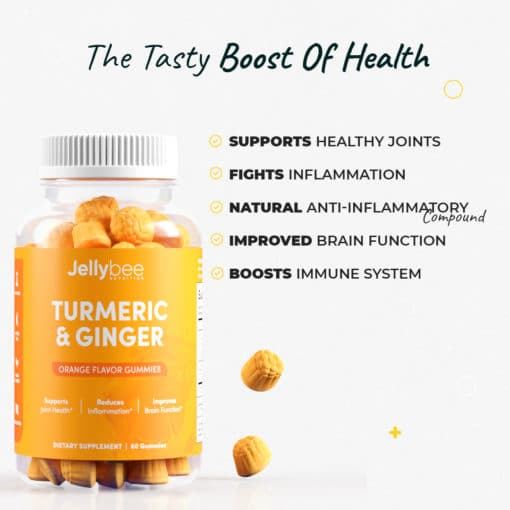 Turmeric and ginger gummies